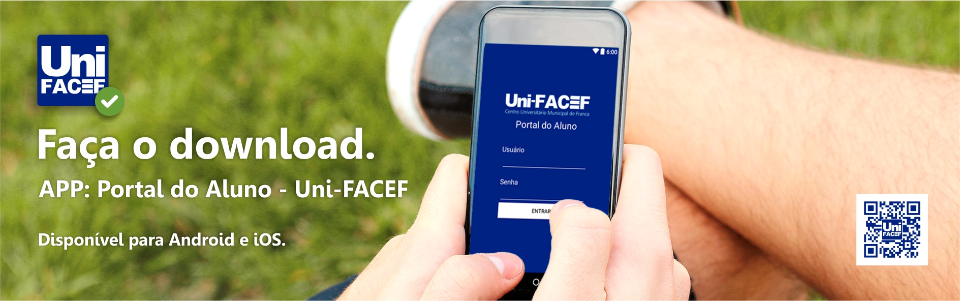 Aplicativo Uni-FACEF para Android e iOS